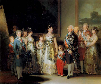 Гойя Портрет семьи Карла IV