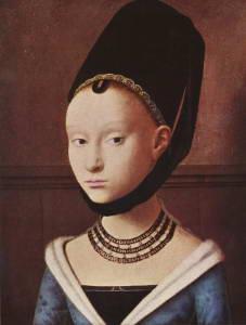 Портрет молодой девушки. Пертус Кристус